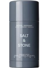 SALT & STONE - Natural Deodorant Vetiver + Lemongrass + Sandalwood 75 g - ROLL-ON DEO