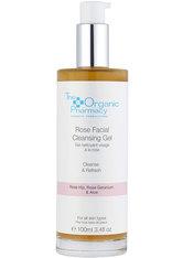 The Organic Pharmacy Pflege Gesichtsreinigung Rose Facial Cleansing Gel 100 ml