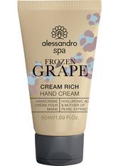 Alessandro Spa CREAM RICH FROZEN GRAPE Handcreme  50 ml