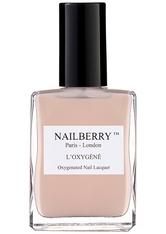 Nailberry Nägel Nagellack L'Oxygéné Oxygenated Nail Lacquer Au Naturel 15 ml