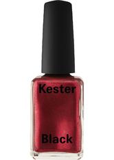 Kester Black Lucky - Red Metallic 15 ml Nagellack