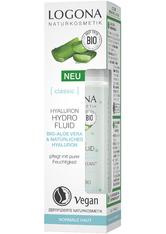 Logona Classic Hyaluron Hydro Fluid Bio-Aloe Vera & Hyaluronsäure Gesichtsfluid 30 ml