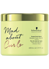 Schwarzkopf Professional Mad About Curls Superfood Mask Haarmaske 650.0 ml