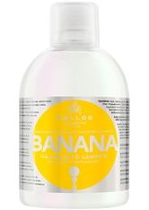Kallos Cosmetics - Haarshampoo - KJMN Banana Fortifying Shampoo with Multivitamin Complex - 1000ml