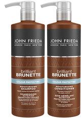 JOHN FRIEDA Brilliant Brunette Colour Protection Haarpflegeset 1 Stk