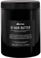 DAVINES - Davines Essential Hair Care OI Hair Butter 1000 ml Haarmaske - Haarmasken