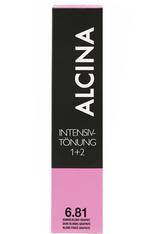 Alcina Color Creme 6.81 Dunkelblond-Graphit 60 ml