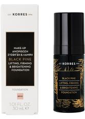 Korres Black Pine Lifting, Firming & Brightening Flüssige Foundation  30 ml Bpf00