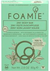 Foamie 2 in 1 Body Bar Mint to Be Fresh 80 g Duschcreme