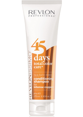 REVLON PROFESSIONAL - Revlon Professional Revlonissimo 45 days total color care Intense Coppers, 275 ml - SHAMPOO