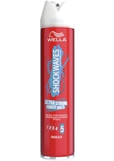 Wella Shockwaves Haare Styling Ultra Strong Power Hold Haarlack 250 ml