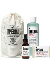IMPERIAL - Imperial Barber Products Shave Bundle - Rasierschaum & Creme