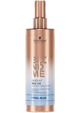 Schwarzkopf Professional Haarpflege Blondme Instant Blush Stahlblau 250 ml