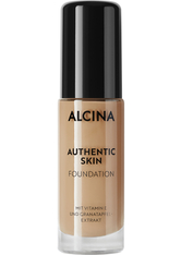 ALCINA - Alcina Authentic Skin Foundation Medium 28,5 ml - Foundation