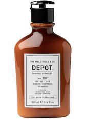 DEPOT 107 White Clay Sebum Control Shampoo 250 ml