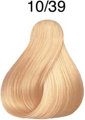 Wella Professionals Color Fresh 10/39 Hell Lichtblond Gold-Cendré Professionelle Haartönung 75 ml