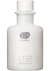 Whamisa Feuchtigkeitspflege Organic Flowers Lotion Double Rich 150 ml