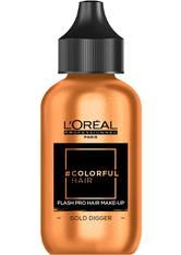 L'ORÉAL PARIS - L'Oreal Professionnel Haarfarben & Tönungen Colorful Hair Flash Pro Hair Make-up Gold Digger 60 ml - Haartönung