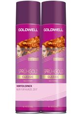 GOLDWELL - Goldwell Sprühgold Classic Spray Vorteilsduo 2 x 400 ml - HAARSPRAY