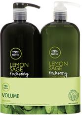 Aktion - Paul Mitchell Tea Tree Save Big On Duo Lemon Sage 2 x 1000 ml Haarpflegeset