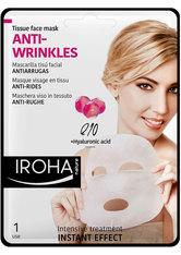 Iroha Gesichts-Vliesmasken Tissue Face Mask ANTI-WRINKLES (1Anwendungen)