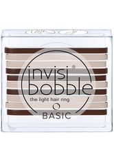 invisibobble Basic The Light Hair Ring - Mocca and Cream (10er-Packung)
