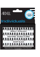 Ardell Individuals Duralash Knot Free Double Flares Short Black Künstliche Wimpern 1.0 pieces