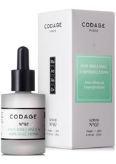 CODAGE - CODAGE Anti-Glanz Serum N.02 gegen Unreinheiten (30 ml) - SERUM
