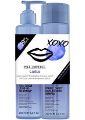 Aktion - Paul Mitchell Save on Duo Curls - Shampoo 250 ml + Full Circle Leave-In Treatment 200 ml Haarpflegeset