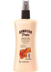 HAWAIIAN TROPIC - Hawaiian Tropic Satin Protection Sun Spray Lotion (SPF8) 200 ml - SONNENCREME