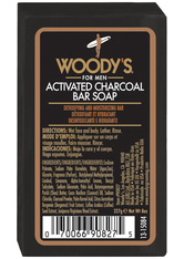 Woody's Black Charcoal Soap 227 g Duschcreme