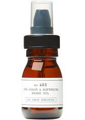 DEPOT - DEPOT 403 Pre-Shave and Softening Beard Oil 30 ml - BARTPFLEGE