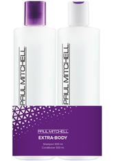 Aktion - Paul Mitchell Extra-Body Save on Duo Koziol 2 x 500 ml Haarpflegeset