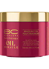 SCHWARZKOPF - Schwarzkopf Professional Haarkur »BC Bonacure Oil Miracle Brazilnut Oil Pulp Treatment«, 1-tlg., brillanter Glanz, 150 ml - HAARÖL