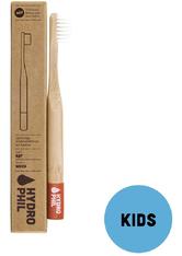 HYDROPHIL Nachhaltige Kinder-Zahnbürste Rot - Extraweich Zahnbürste  1 Stk