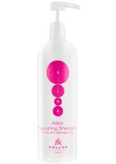 Kallos Cosmetics - Haarshampoo - KJMN Nourishing Shampoo - for Dry & Damaged Hair - 1000ml