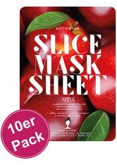 KOCOSTAR - Kocostar Slice Mask Apple 10er Pack - Tuchmasken
