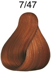 Wella Professionals Color Fresh 7/47 Mittelblond Rot-Braun Professionelle Haartönung 75 ml