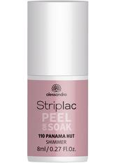 Alessandro Striplac Peel or Soak - Vegan Nagellack 8 ml Nr. 110 - Panama Hut