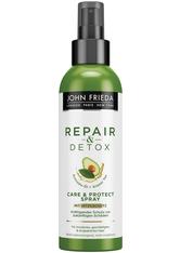 John Frieda Repair & Detox Care&Protect Spray - mit Hitzeschutz 200 ml Hitzeschutzspray