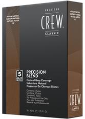 American Crew Haarpflege Precision Blend Tönungen Braun 4-5 3 x 40 ml
