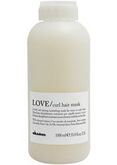 DAVINES - Davines Essential Haircare Love Curl Mask 1000 ml - HAARMASKEN