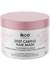 IKOO - ikoo Infusions Deep Caring Mask Color Protect & Repair 200 ml - HAARMASKEN