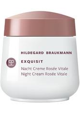 HILDEGARD BRAUKMANN EXQUISIT Nacht Creme Rosée Vitale Gesichtscreme 50.0 ml