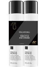 Aktion - Paul Mitchell Save On Duo Stay Strong Set, 2 x 300 ml Haarspray