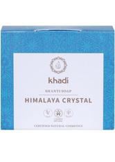 Khadi Naturkosmetik Produkte Shanti Soap - Himalaya Crystal 100g Gesichtsseife 100.0 g