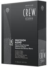 American Crew Haarpflege Precision Blend Tönungen Dunkelbraun 2-3 3 x 40 ml