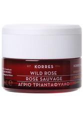 Korres Wild Rose Tagescreme für strahlenden Teint und erste Falten - trockene Haut 40 ml