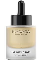 MÁDARA Organic Skincare INFINITY Drops Immuno-Serum 30 ml Gesichtsserum