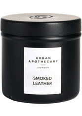 Urban Apothecary Luxury Iron Travel Candle Smoked Leather Kerze 175.0 g